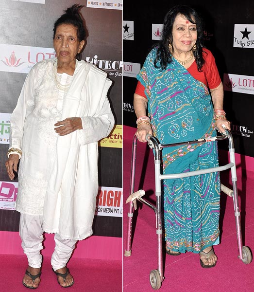 Mubarak Begum and Sitara Devi