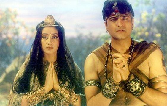 Manisha Koirala and Armaan Kohli in Jaani Dushman