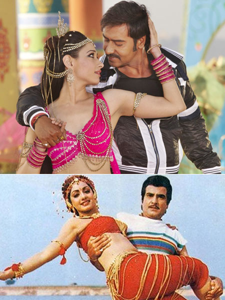 Nainon mein sapna, new and old Himmatwala