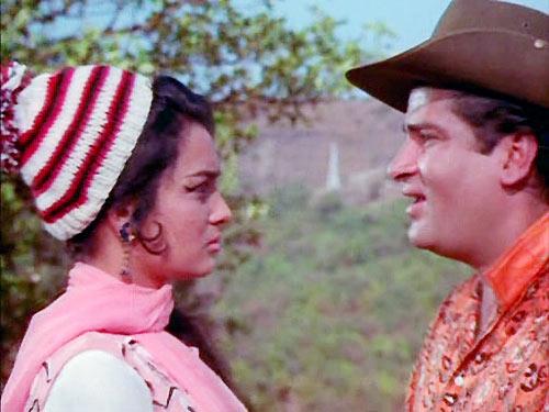 Asha Parekh and Shammi Kapoor in Teesri Manzil