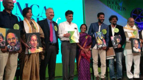 Limca Book honours Prabhu Deva, Shabana Azmi