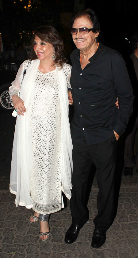 Zarine and Sanjay Khan