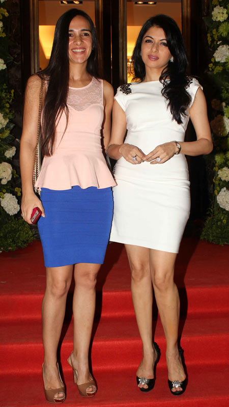 Tara Sharma and Bhagyashree