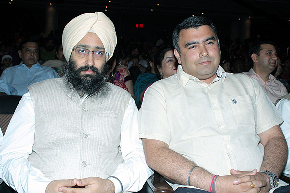 Rabbi Shergill and Gangan Narang