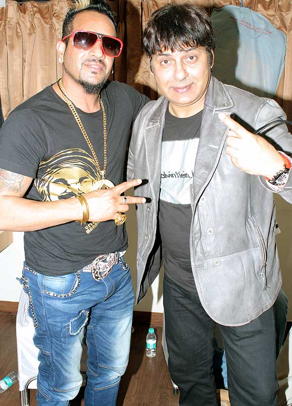 Jazzy B and Sudesh Lahri
