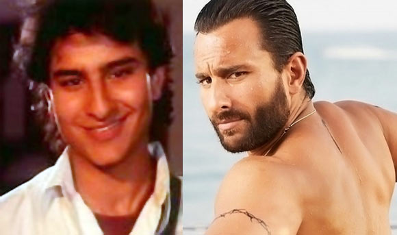 Saif Ali Khan in Parampara and Race 2