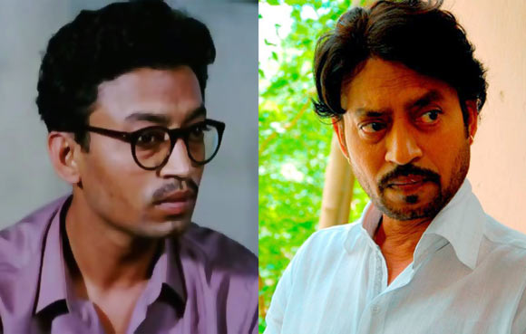 Irrfan Khan in Ek Doctor Ki Maut and in Saheb Biwi Aur Gangster Returns