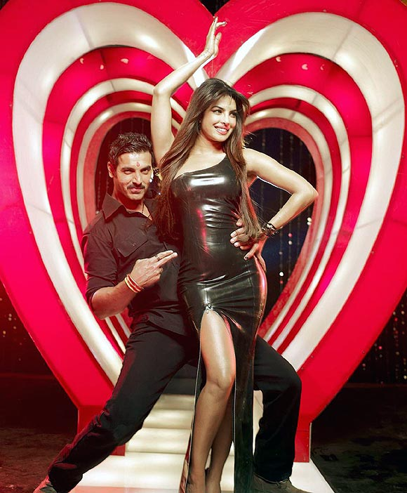 John Abraham and Priyanka Chopra in Shootout At Wadala