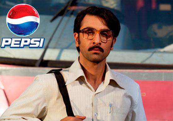 Ranbir Kapoor in Pepsi ad