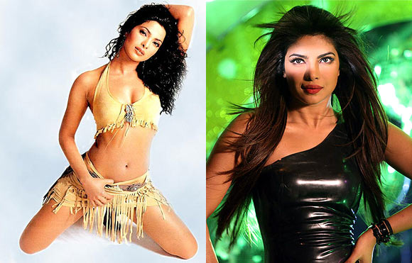 Priyanka Chopra in Andaaz and Shootout AT Wadala