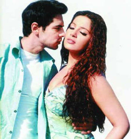 Dino Morea and Bipasha Basu in Chehraa