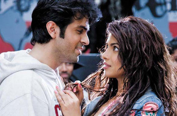 Harman Baweja and Priyanka Chopra in What's Your Rashee?