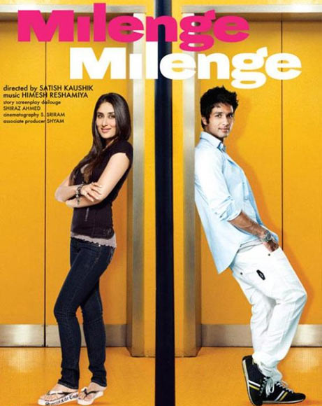 Shahid Kapoor and Kareena Kapoor in Milenge Milenge