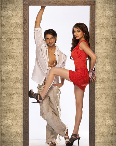 Ranveer Singh and Anushka Sharma in Ladies v/s Ricky Bahl