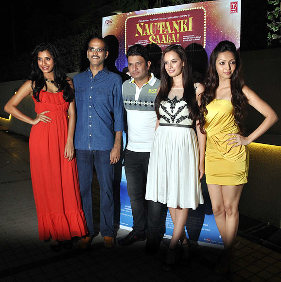 Gaelyn Mendonca, Rohan Sippy, Bhushan Kumar, Evelyn Sharma, Pooja Salvi