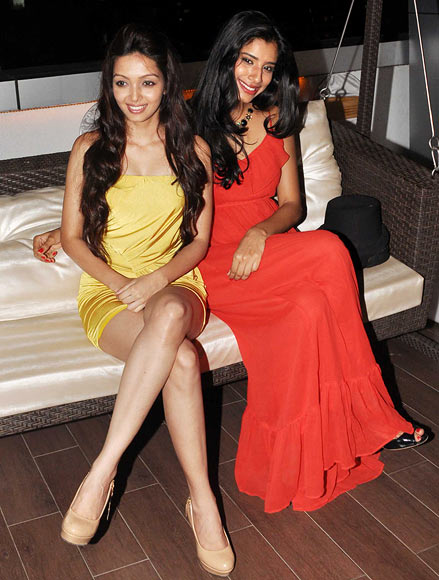 Pooja Salvi and Gaelyn Mendonca