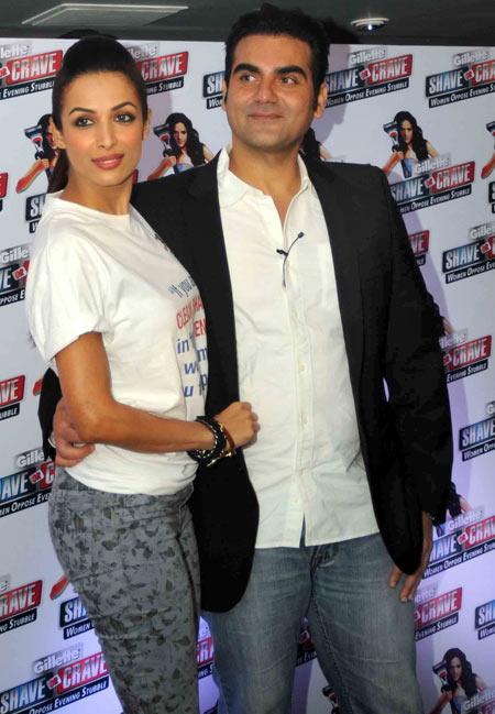 Malaika Arora Khan and Arbaaz Khan
