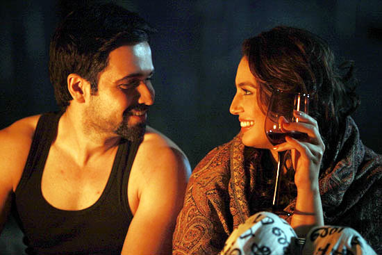 Emraan Hashmi and Huma Qureshi in Ek Thi Daayan