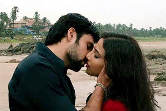 Emraan Hashmi and Vidya Balan in The Dirty Picture