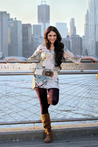 Aditi Rao Hydari in London, Paris, New York
