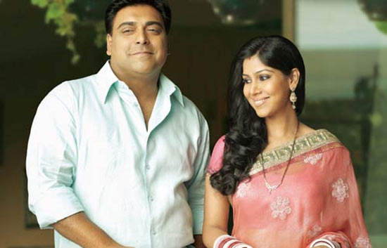 Sakshi Tanwar and Ram Kapoor in Bade Achhe Lagte Hai