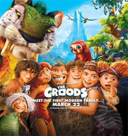 Movie poster of The Croods