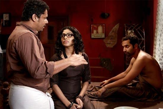 Aashiq Abu, Rima Kallingal and Fahad Fasil