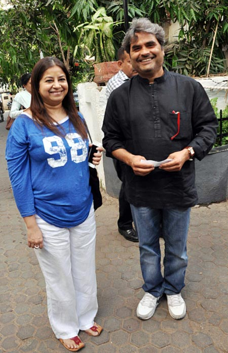 Rekha and Vishal Bhardwaj