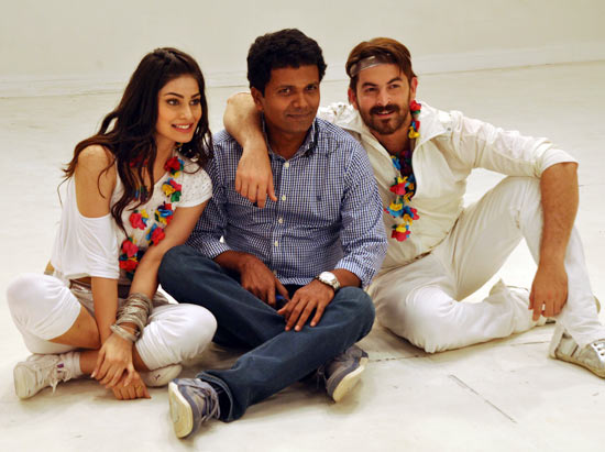 Neil Nitin Mukesh and Puja Gupta and director Susi Ganeshan
