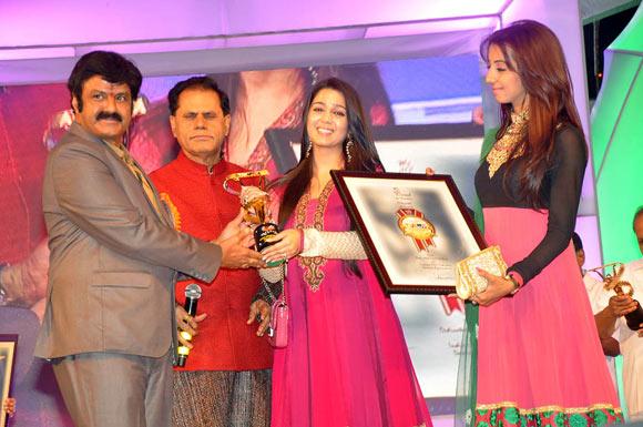 Bala Krishna,T Subhrami Reddy,Charmee, Sanjana