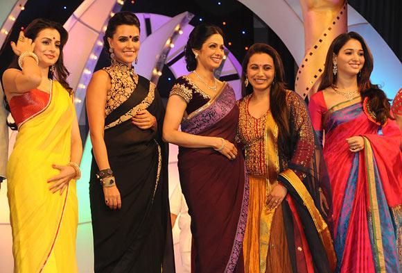 Ameesha Patel, Neha Dhupia, Sridevi, Rani Mukerji and Tamannah
