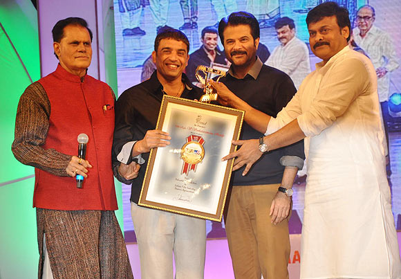 T Subhrami Reddy, Dil Raju, Anil Kapoor, Chiranjeevi