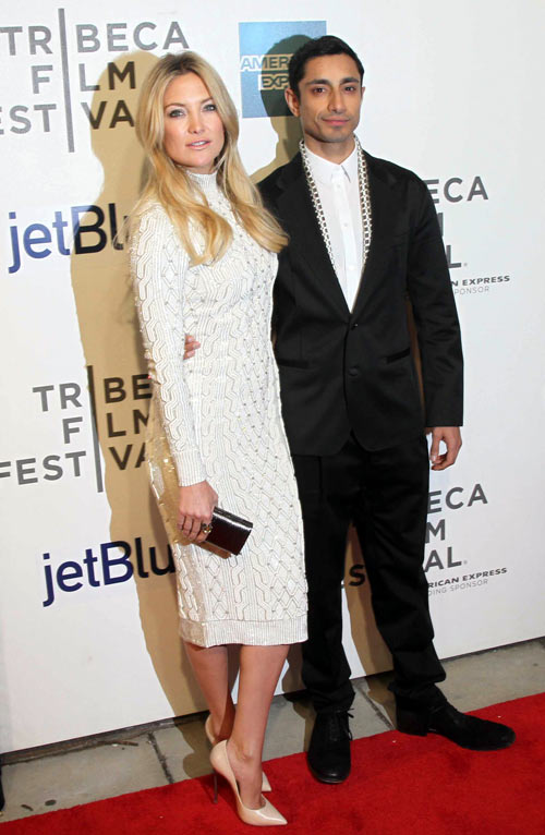 Kate Hudson and Riz Ahmed