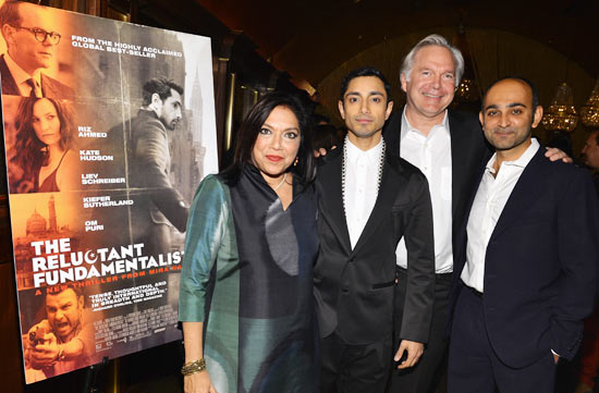 Mira Nair, Riz Ahmed, Jonathan Sehring and Mohsin Hamid