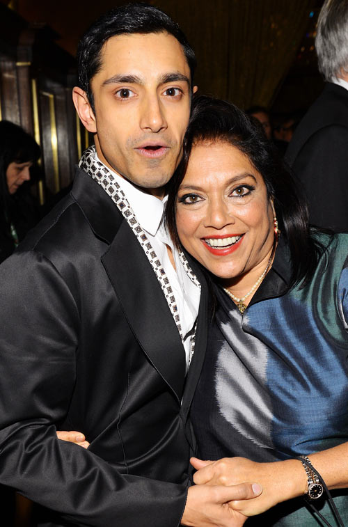 Riz Ahmed and Mira Nair