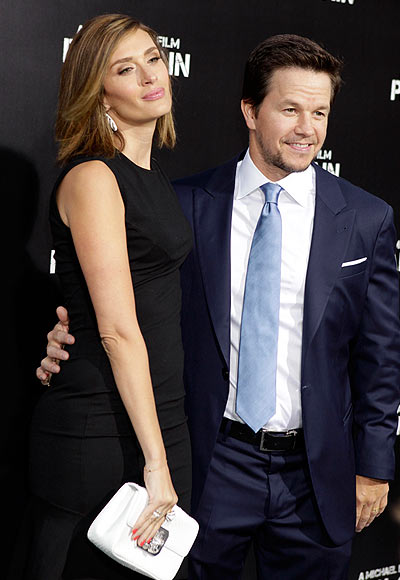 Mark Wahlberg with wife Rhea Durham