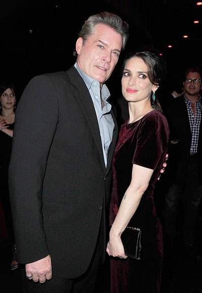 Ray Liotta and Winona Ryder