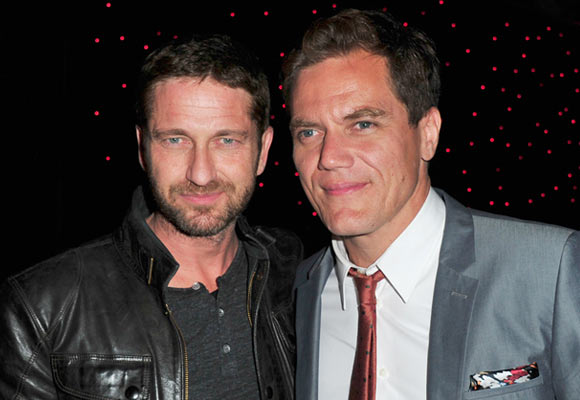Gerard Butler and Michael Shannon