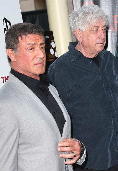 Sylvester Stallone and Avi Lerner