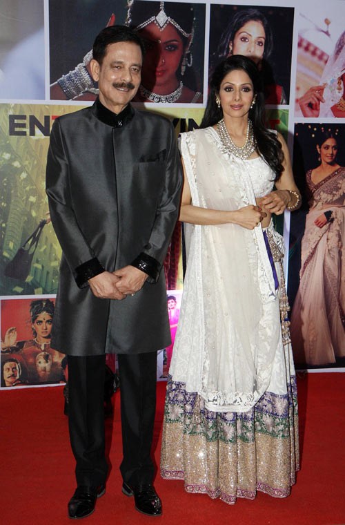 Subroto Roy and Sridevi