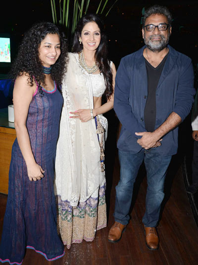 Gauri Shinde, Sridevi and R Balki