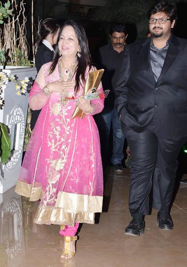 Smita Thackeray and son Rahul