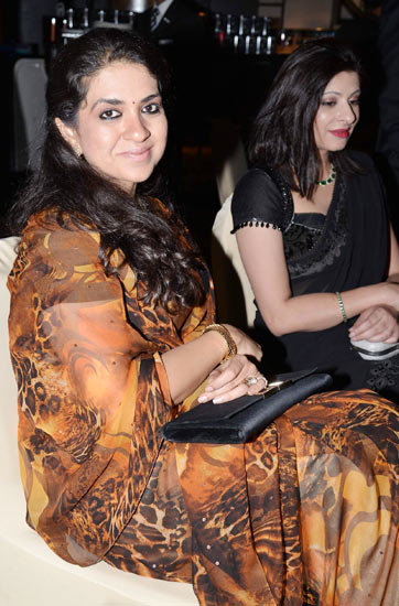 Shaina NC and Chandani Roy