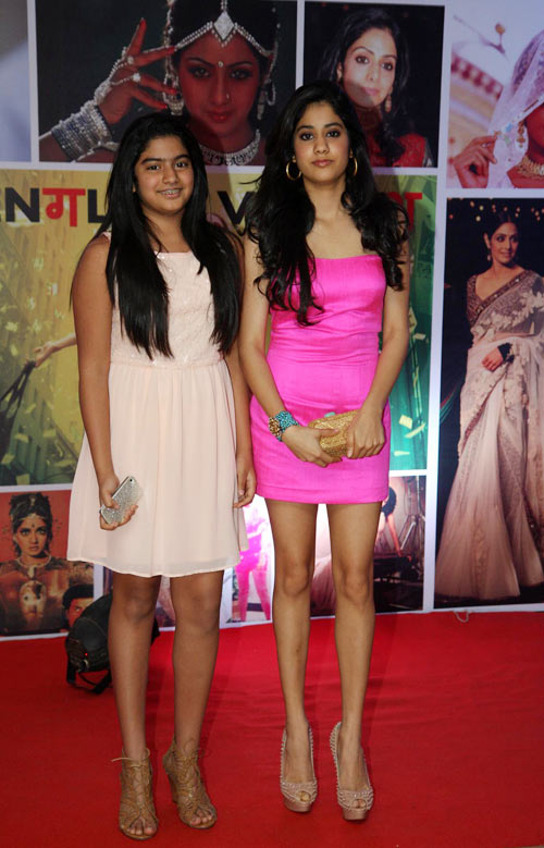 Khushi and Jhanvi