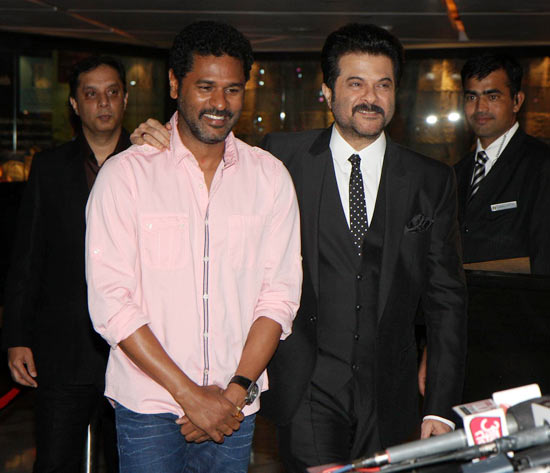 Anil Kapoor and Prabhu Deva