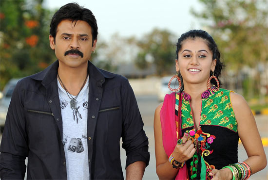 Venkatesh and Taapsee Pannu in Shadow