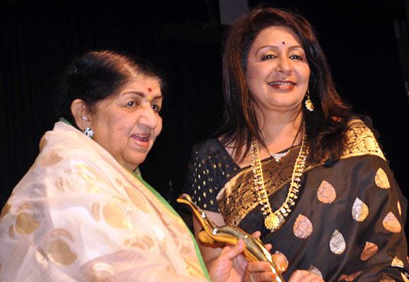 Lata Mangeshkar, Vandana Gupte