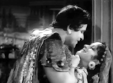 Prithviraj Kapoor and Vanamala in Sikander