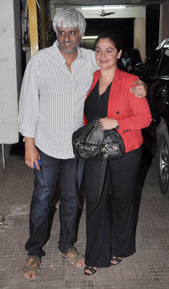 Vikram and Pooja Bhatt