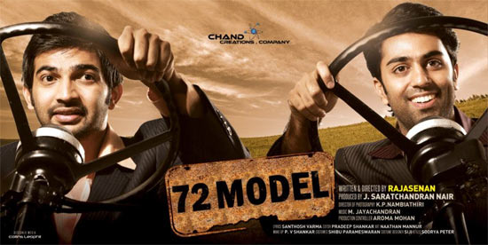 Movie poster of 72 Model